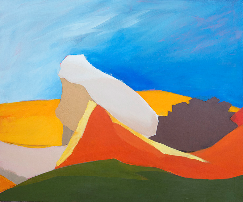 Reclining Landscape