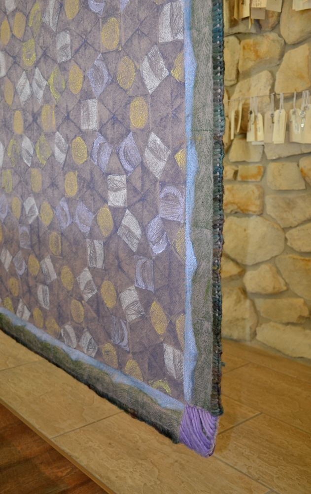 Mountain Blanket detail