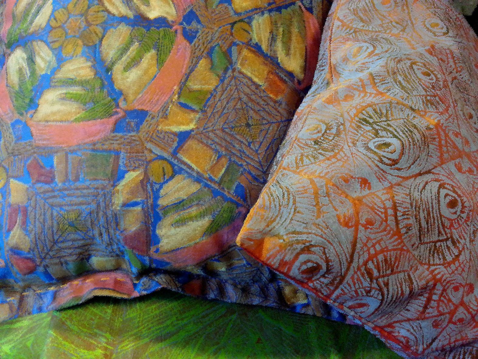 Cushions detail