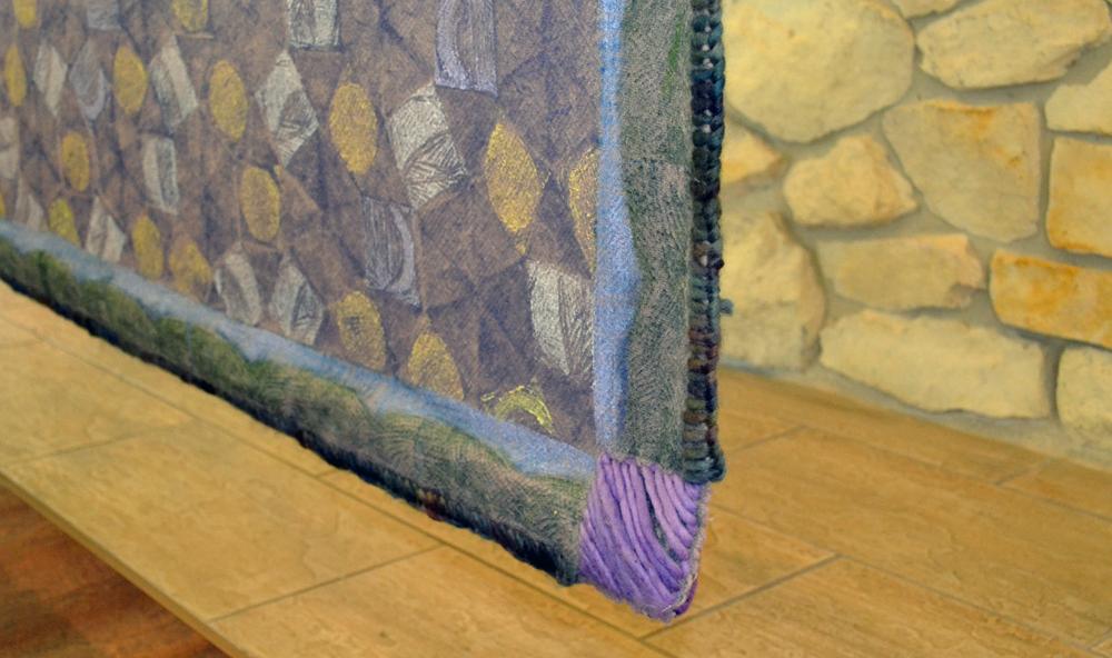 Mountain Blanket corner detail