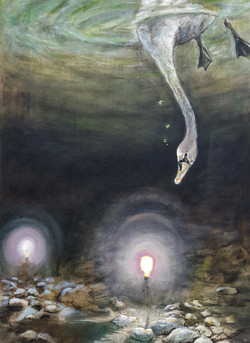 """Swan and Lightbulbs"""