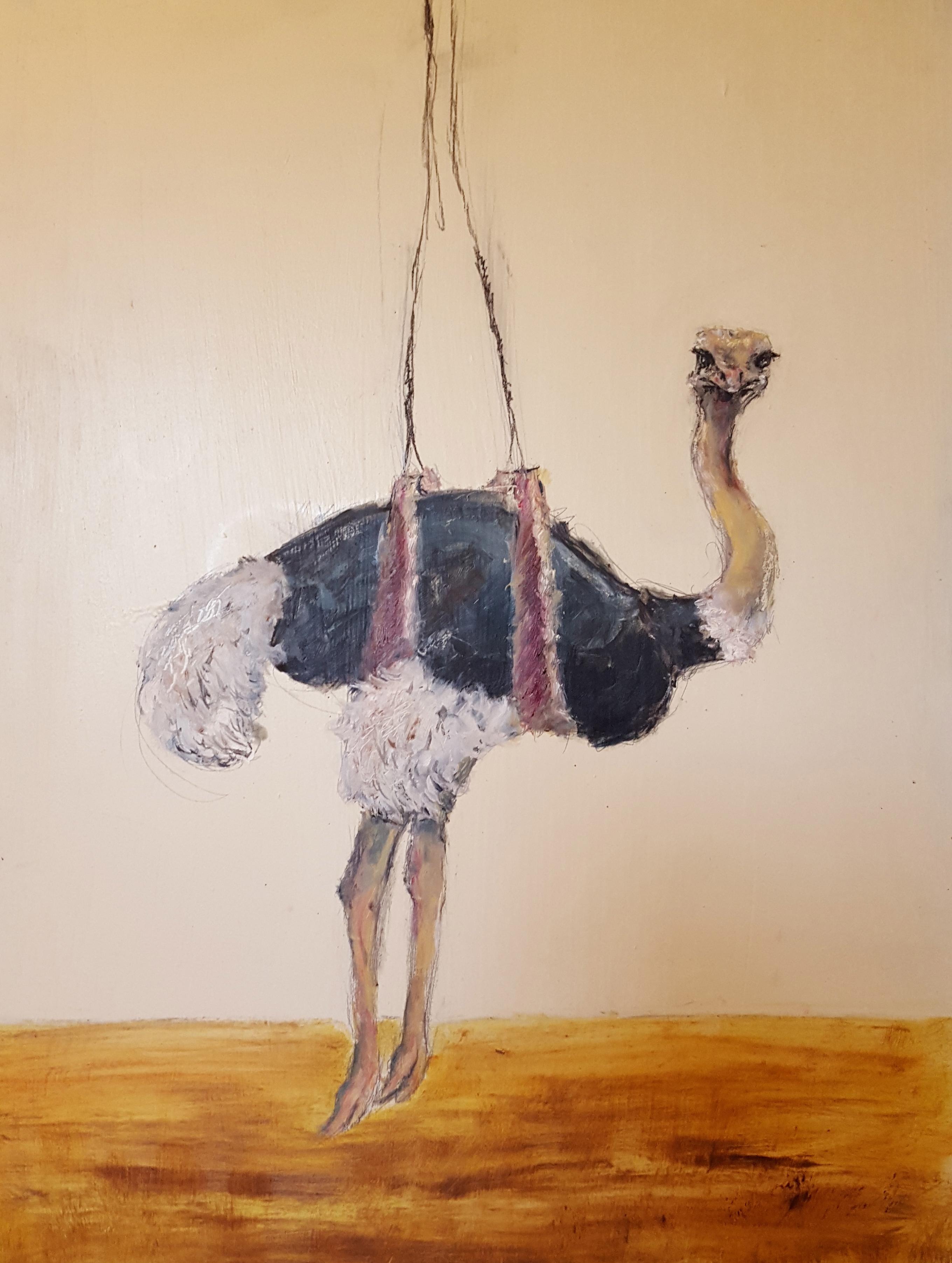 """Flying Ostrich"""