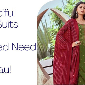15 Beautiful Salwar Suits EVERY Newlywed Need In Her Trousseau!