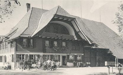 Rössli Etzelkofen in den 40er Jahren