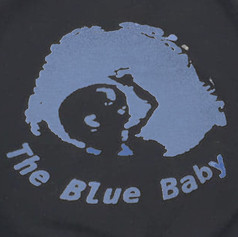 The Blue Baby Print