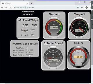 IIoTA™ Dashboard Designer tool