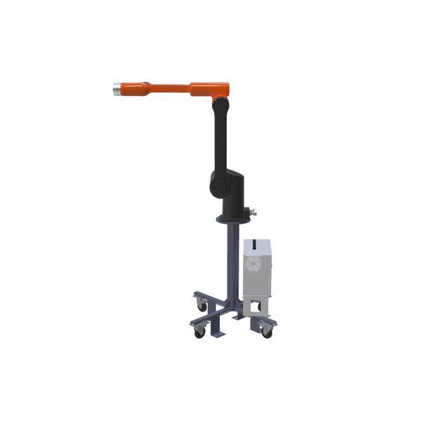 Hanwha HCR-12 Pre-Engineered Robotic Workcell - right extended view