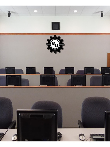 elliTek University classroom from the instructor's perspective