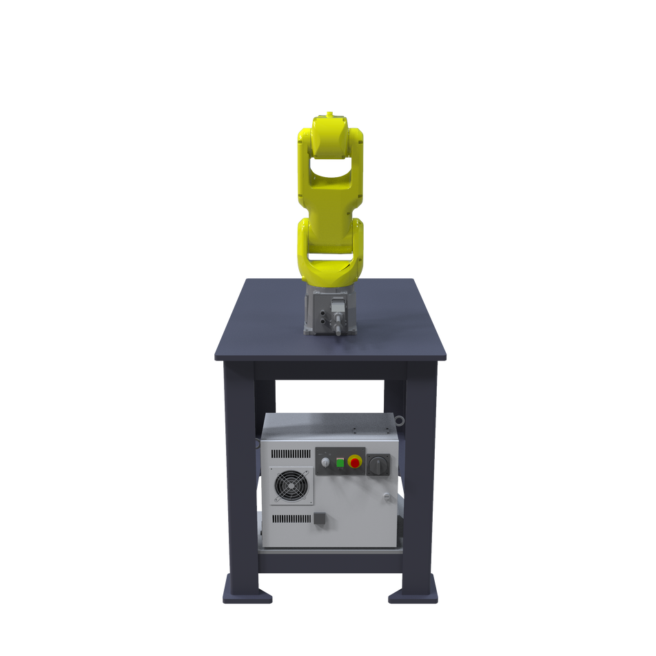 FANUC LR Mate 200iD Pre-Engineered Robotic Workcell - rear view