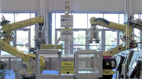 Fanuc's M-10iA Series demonstrating pack and place