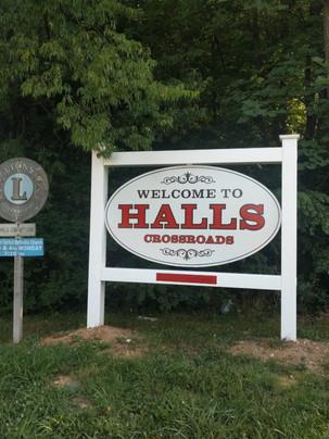Halls Crossroads, Knox County, TN