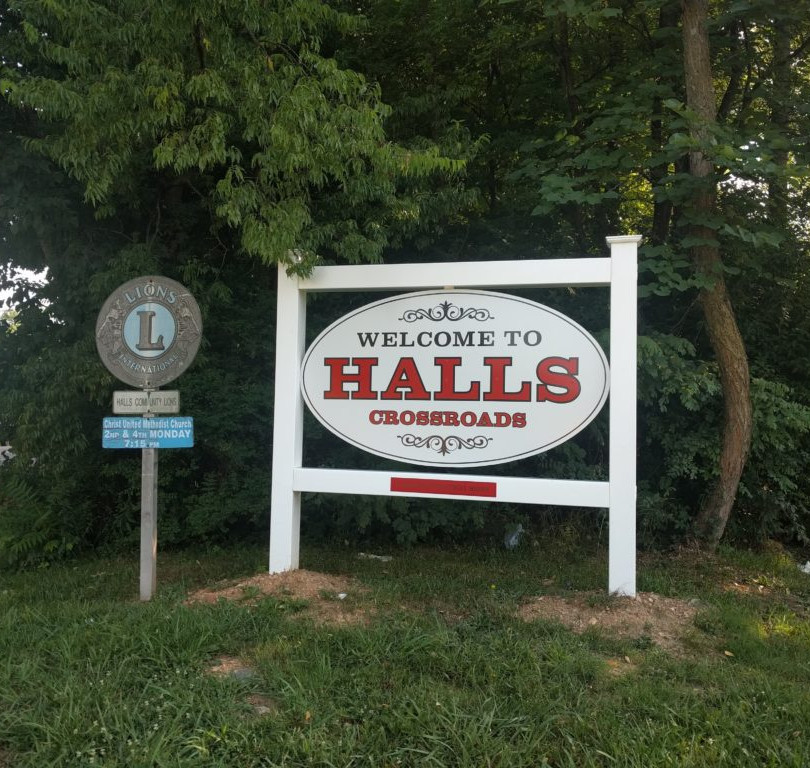 Halls Crossroads, Knox County, TN