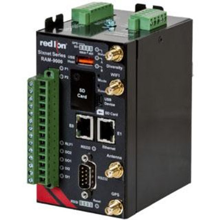 Red Lion's Sixnet series RAM 9000 industrial cellular RTUs