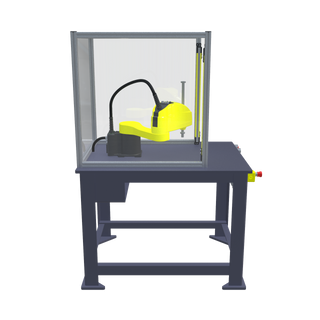 FANUC SR-6iA Pre-Engineered Robotic Workcell -right view