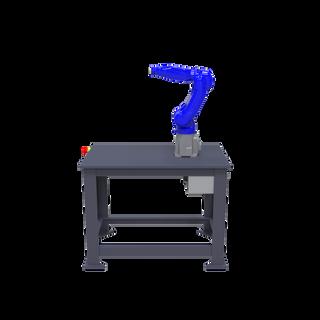 Yaskawa Motoman GP8 Robotic Workcell - right view