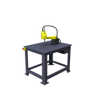 FANUC SR-6iA Pre-Engineered Robotic Workcell - ISO right view