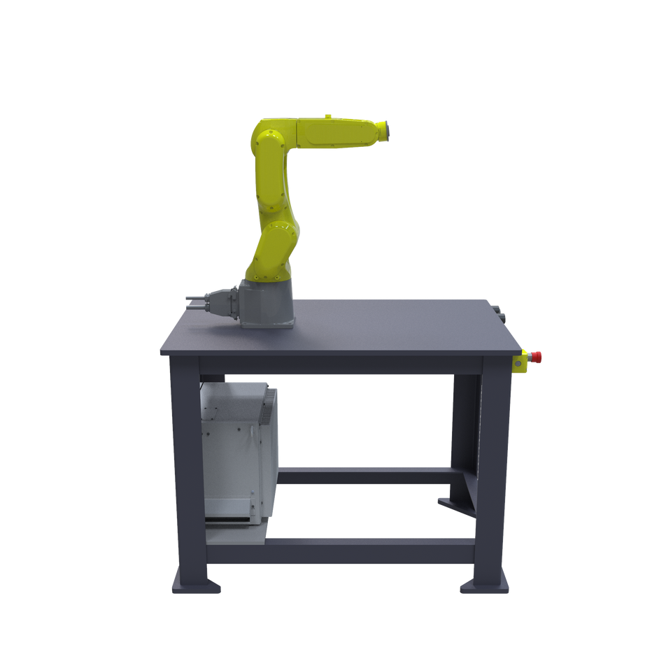 FANUC LR Mate 200iD Pre-Engineered Robotic Workcell - left view