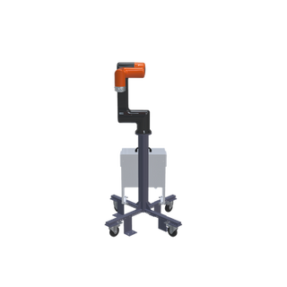 Hanwha HCR-5 Pre-Engineered Robotic Workcell - front view