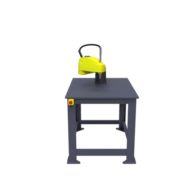 FANUC SR-6iA Pre-Engineered Robotic Workcell - front view
