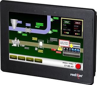 """Red Lion's 7"""" CR1000 and elliTek's IIoT integration"""