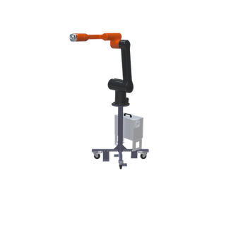 Hanwha HCR-12 Pre-Engineered Robotic Workcell - right view