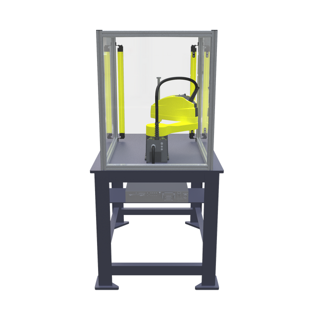 FANUC SR-6iA Pre-Engineered Robotic Workcell - rear view