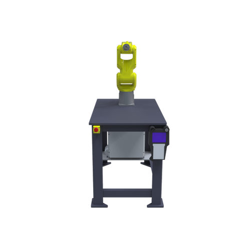 FANUC LR Mate 200iD Pre-Engineered Robotic Workcell - front view