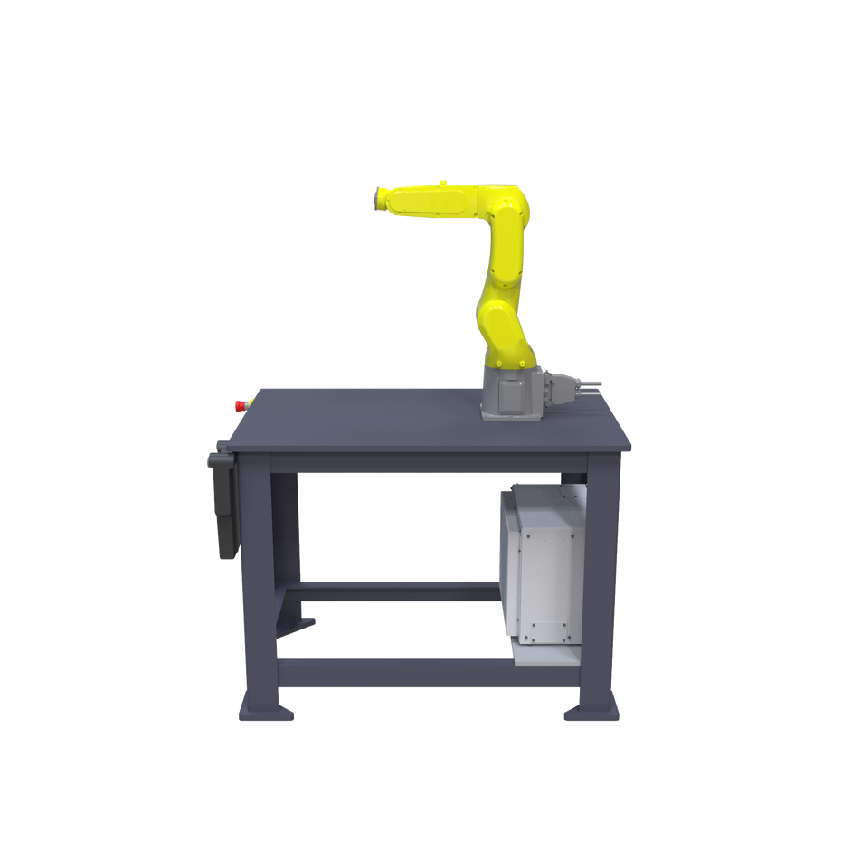 FANUC LR Mate 200iD Pre-Engineered Robotic Workcell - right view