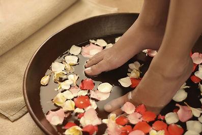 Mooie voeten ritueel BMS