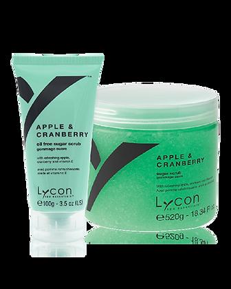 Lycon Apple & Cranberry Body Scrub