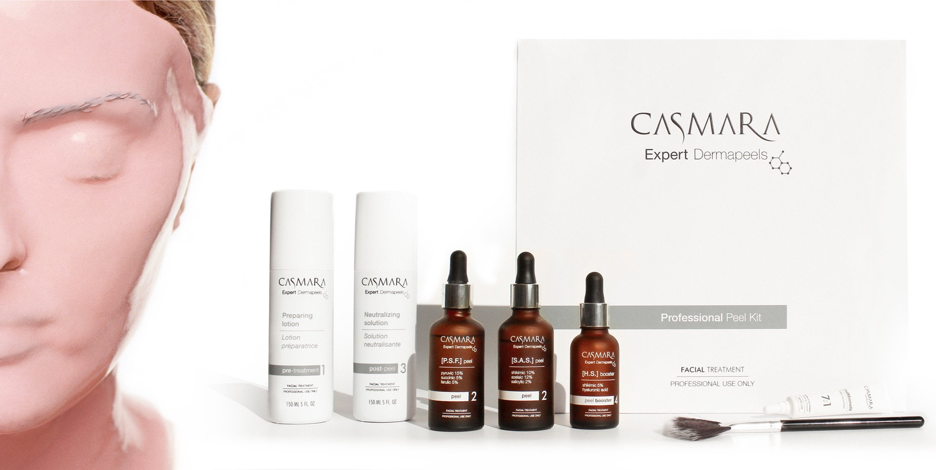 Casmara Dermapeel behandeling