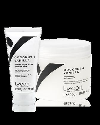 Lycon Coconut & Vanilla Body Scrub