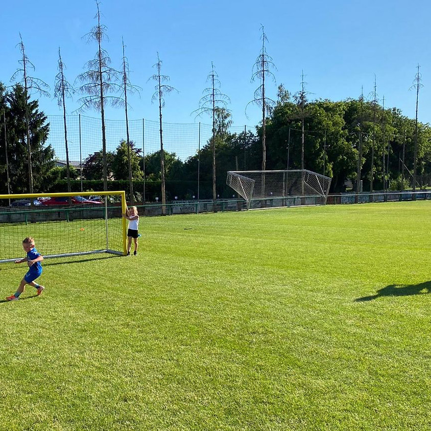 Initiatie voetbaltraining
