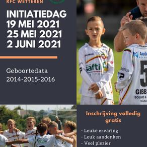 Initiatiedag voor spelers van 2014-2015-2016