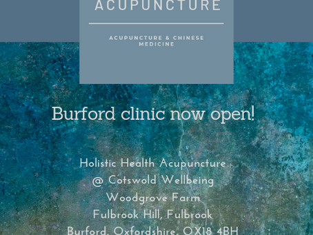 Burford Clinic now open