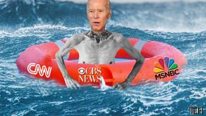 Biden Keeps Head Above Troubled Waters.