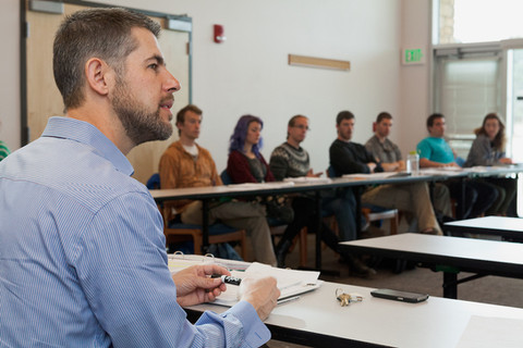 One of my classes at Fort Lewis College