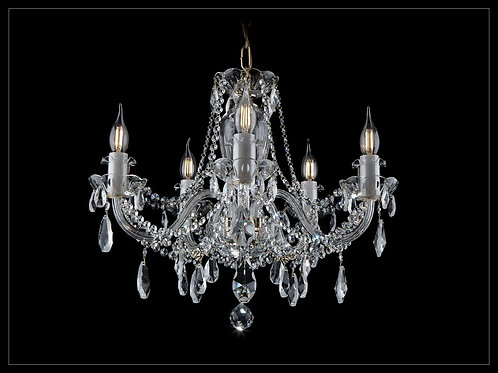 Chandelier clear crystal silver color L109/5/02