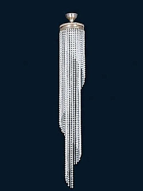 Pendant lighting long L746/5/05 Silver