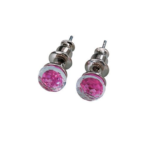 Ivy  - Earrings - fuchsia