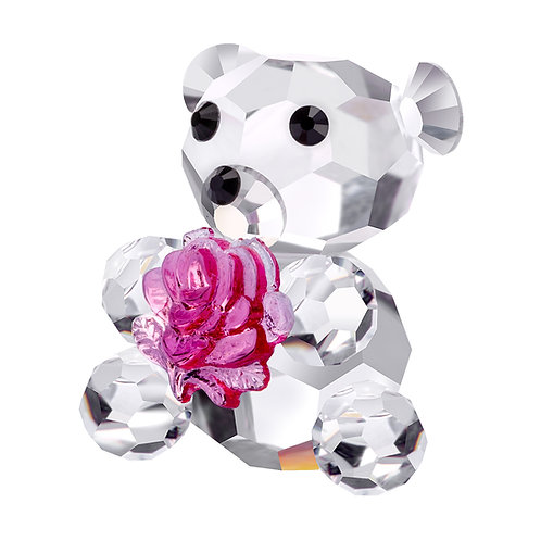 Baby Bear with Flower
