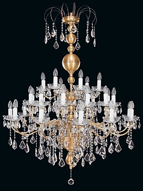 Large chandelier L900/30/04 old gold