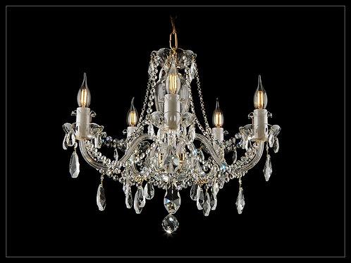 Crystal chandelier L109/5/02 gold