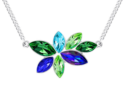 Necklace for women Flying Gem by Veronika Jewelry Aloy Hypoallergenic