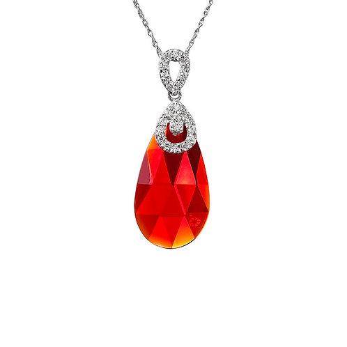 Pendant Perfect Brilliance silver AG 925 / RH Siam Red 6786 63