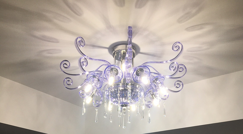 Ceiling lighting flash mount with G9 lights for custom made