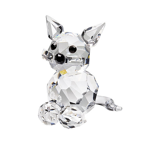 Miniature crystal collection. Cat. Sitting Kitten 0249 00