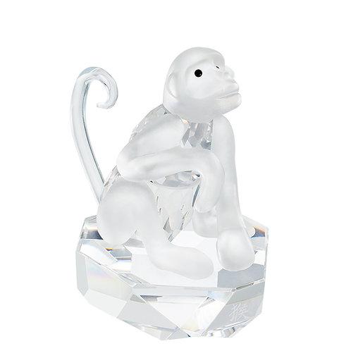 Crystal Figurine of Smart Monkey