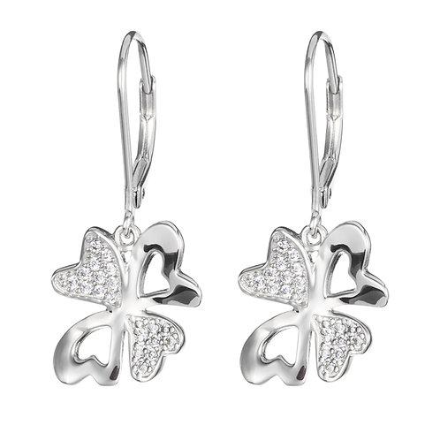 Vogue - Earrings Ag 925/Rh - white