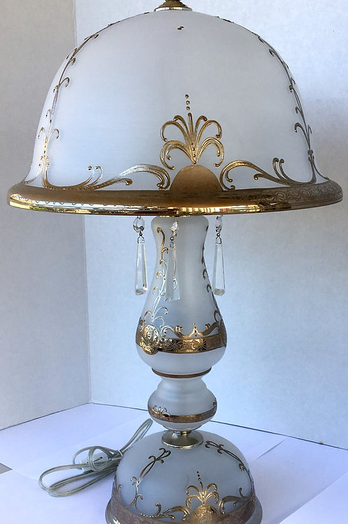 Table lamp S 531-3-03 N sirm handmade painting high size